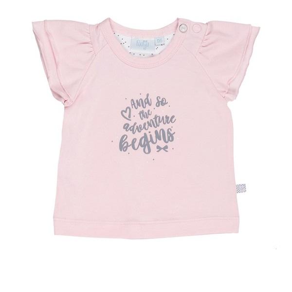 Roze Babykleding.Feetje T Shirt Adventure All Of Me Roze Babykleding
