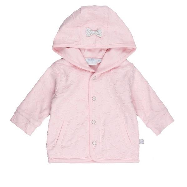 Roze Babykleding.Feetje Jasje Capuchon All Of Me Roze Babykleding