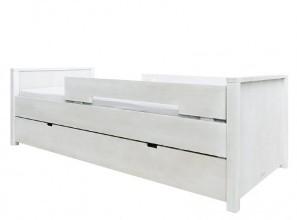 Tienerkamer Basic Wood.Bopita Bed 90x200 Basic Wood Blue Wash Bopita Bed
