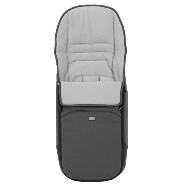 Mutsy Nio Inspire Kinderwagen Black Frame Pearl Grey