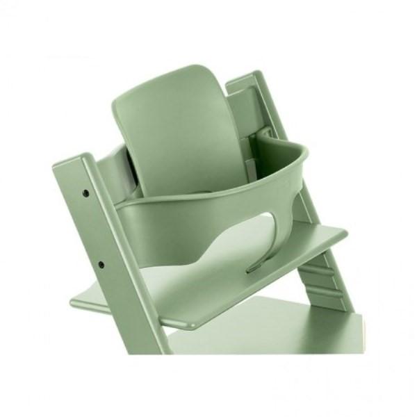 Stokke Kinderstoel Aanbieding.Stokke Tripp Trapp Babyset Moss Green